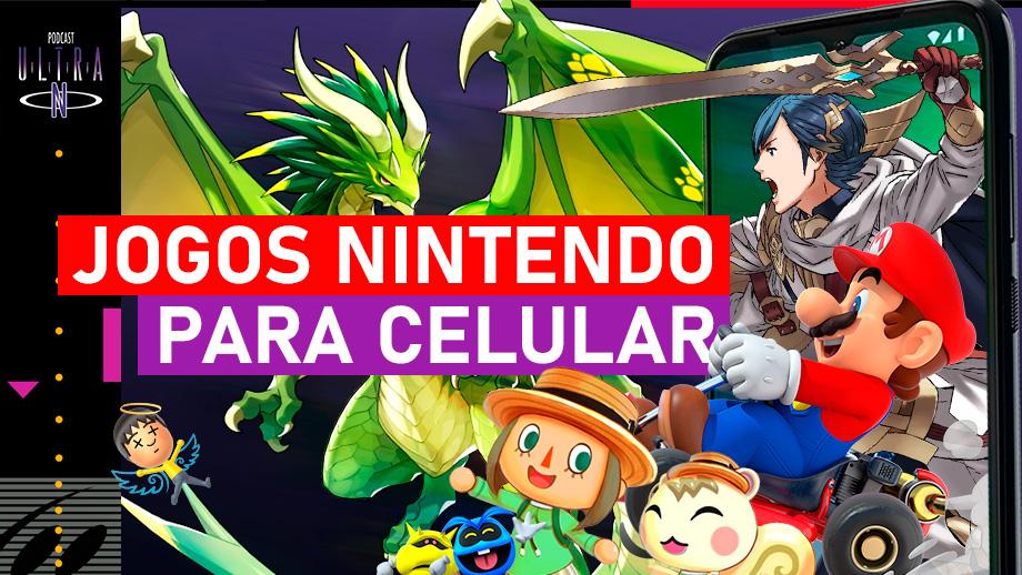 Jogos Nintendo para Celular