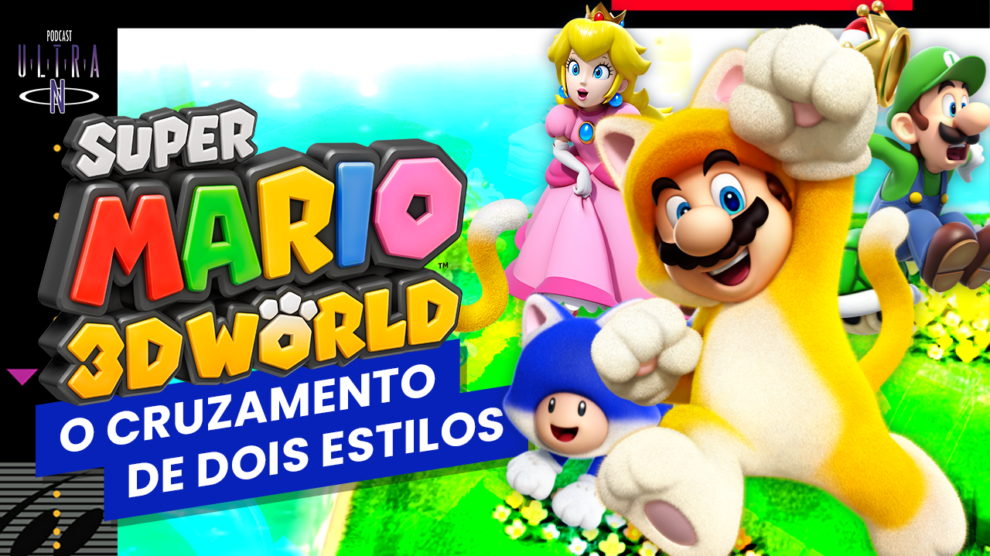 Super Mario 3D World: O cruzamento de dois estilos