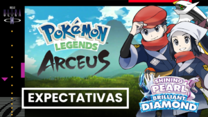 Expectativas para Pokémon Legends Arceus e Pokémon Brilliant Diamond & Shining Pearl