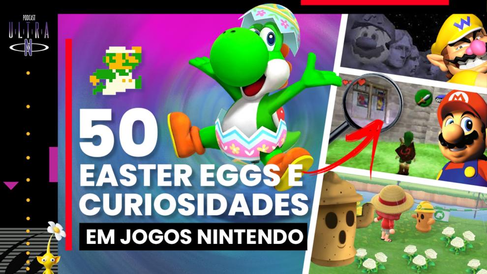 Easter Eggs e Curiosidades em Jogos Nintendo