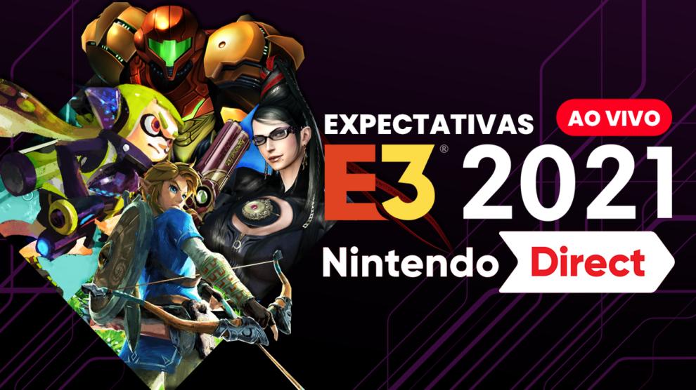 Expectativas para o NINTENDO DIRECT da E3 2021